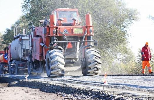 На дорозі Харків - Богодухів - Охтирка тривають ремонтні роботи