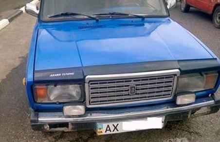 На Харківщині поліцейські знайшли машину, яку довго шукали