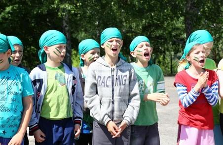 Діти з Харківщини відпочивають у літніх таборах по всій Україні