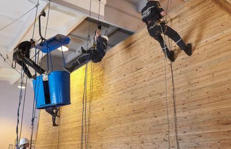 З американськими експертами поділилися досвідом харківські рятувальники