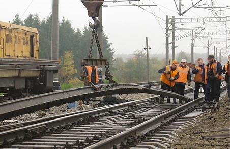 Південна залізниця відремонтувала майже двісті кілометрів колії
