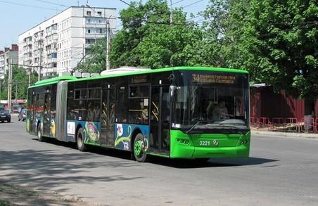 На Нових домах тролейбус не ходитиме декілька днів