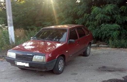 Затримано сумнівну автівку, можливо, викрадену/ Фото