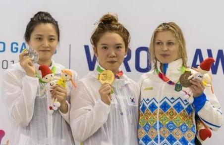 Дєлова отримала бронзу на Всесвітніх іграх у Вроцлаві, поступившись кореянкам
