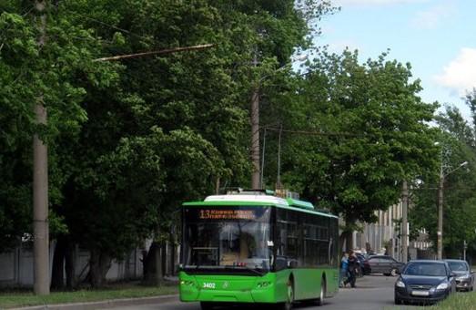 Обмежено рух на ділянці Григоренка - Харківських Дивізій