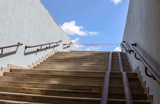 У Харкові ремонтують виходи зі станцій метро