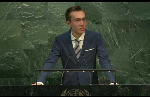 Харків`янин виступив на Генеральній Асамблеї ООН