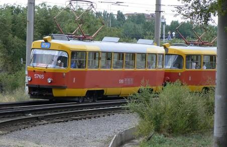 Завтра у Харкові деякі трамваї змінять маршрути
