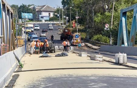 Світлична: Будівництво мосту в Ізюмі вийшло на завершальний етап