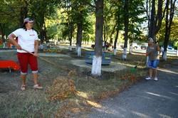 Харківська «Солідарність» встановила дитячий майданчик в селищі Нафтовиків