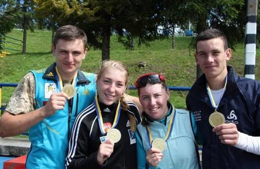Харківські біатлоністи – переможці літнього чемпіонату України
