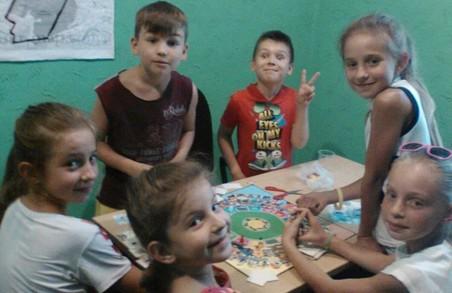 Для дітей Індустріального району Харківська «Солідарність» організувала інтерактивний урок хімії
