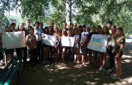 Харківська «Солідарність» та бійці АТО провели для школярів урок мужності