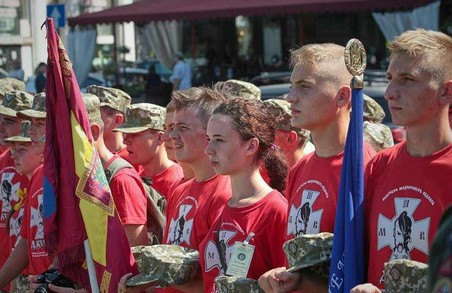 Світлична: Переможці фіналу юнацької військово-патріотичної гри «Джура» визначаться на День Незалежності
