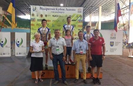 Харківські велосипедисти привезли медалі зі Львова