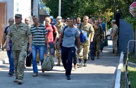 Близько 300 мешканців Харківщини відправлено на військово-навчальні збори