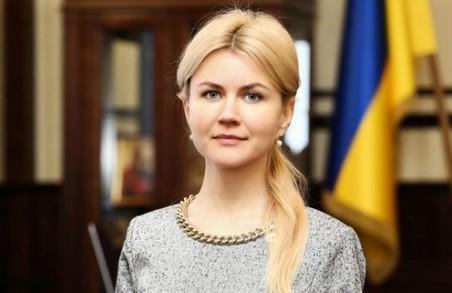Юлія Світлична привітала ФК «Металіст 1925» з першою річницею