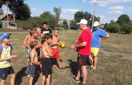 Харківська «Солідарність» облаштувала футбольне поле
