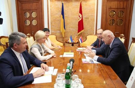 Світлична пообіцяла безпеку бізнесу з Балкан на Харківщині