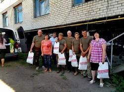 Харківська «Солідарність» відвідала бійців на сході