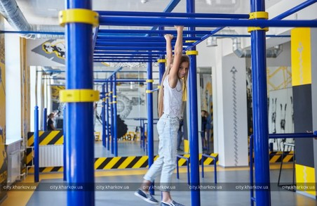В Індустріальному районі відкрито найбільший в Україні центр для занять воркаутом і східними єдиноборствами