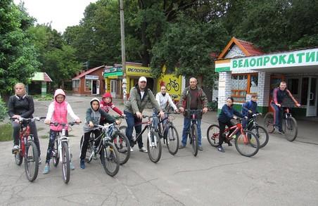 Харківська «Солідарність» організувала велосипедну прогулянку для дітей
