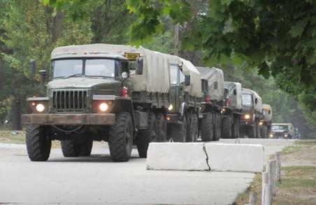 92 мехбригаду почали повертати з АТО до Чугуєва
