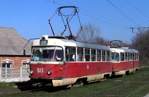 Змінено рух трамваїв по Московському і Тракторобудівників