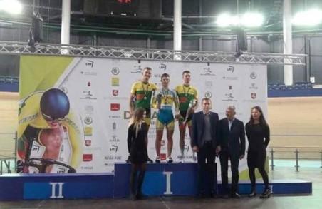 Харківський юніор став чемпіоном з велоспорту