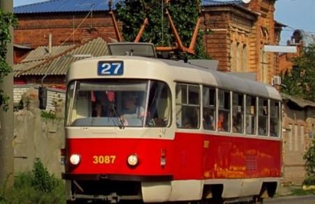 Забороняється рух трамваїв по Гольдбергівській