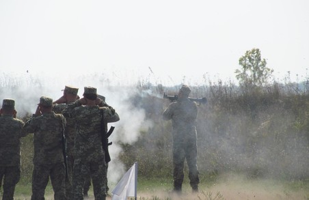 На полігоні 92-ї окремої механізованої бригади завершилися бойові стрільби бійців тероборони