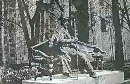 У саду Шевченка з`явиться новий пам`ятник