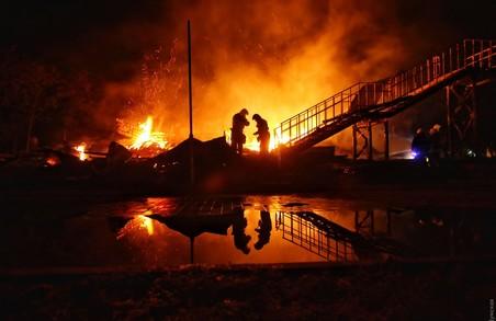 Пожежа в дитячому таборі в Одесі: підробиці, фото, відео