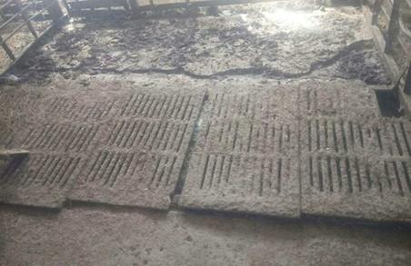 Хлопці на селі вкрали півтонни чавуну