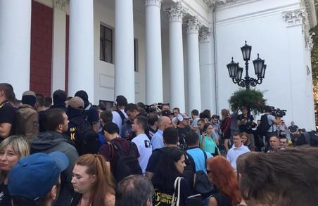 В Одесі - масові заворушення/ Відео, Фото