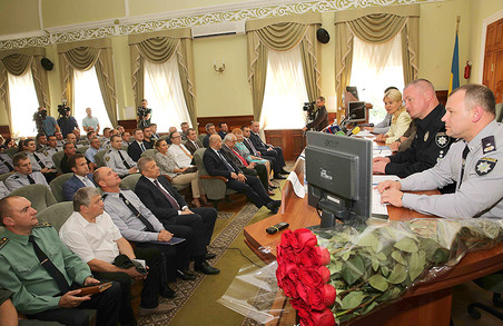 Світлична привітала нового начальника ГУНП у Харківській області