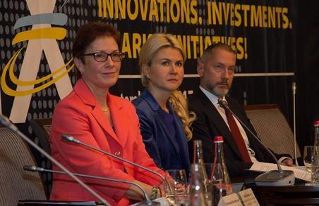Світлична підвела перші підсумки економічного форуму у Харкові