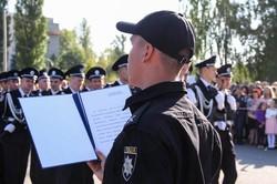 585 першокурсників ХНУВС присягнули на вірність України (фоторепортаж)