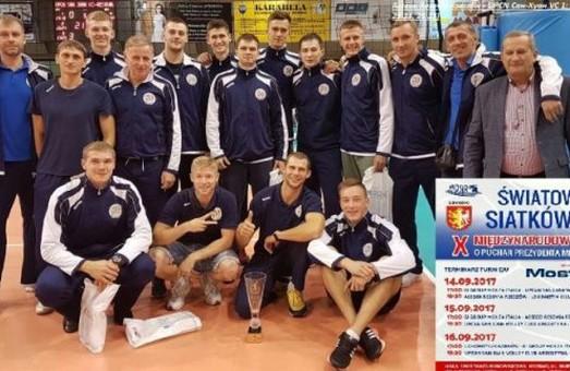 Харківські волейболісти перемогли на міжнародному турнірі