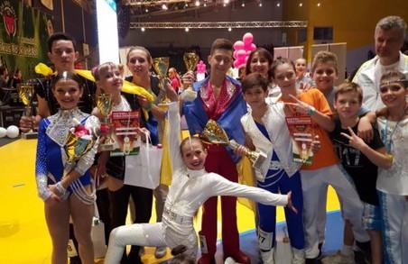 Харківські  «ювенали» відмінно виступили на кубку світу з акробатичного рок-н-ролу
