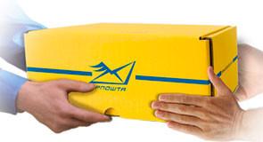 Укрпошта ввела послугу відправлення посилки за принципом «все, що вміщується»