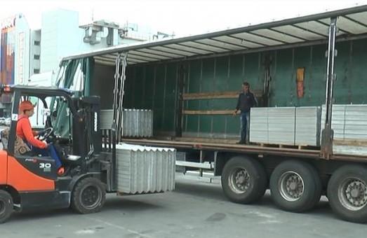 До Вінниці з Харківської області відправили будматеріали