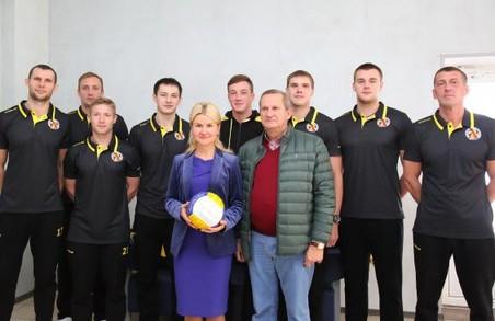 Світлична підтримує популяризацію волейболу на Харківщині
