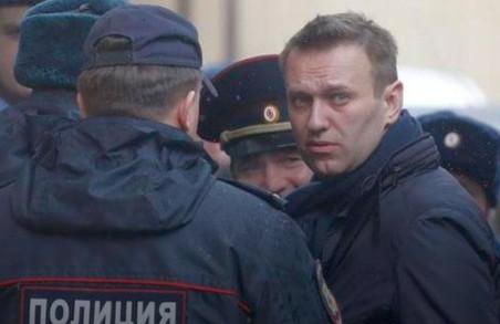 «Як у кіно»: російського опозиціонера Олексія Навального затримали і відпустили