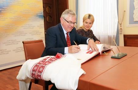 У Харківщини та Данії є великий потенціал у всіх сферах співробітництва - Світлична
