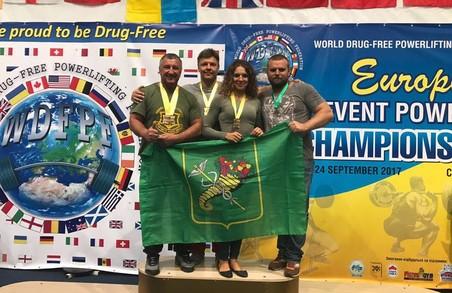 Харківська поліцейська стала двократною чемпіонкою Європи з пауерліфтінгу