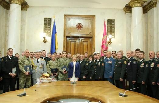 Юлія Світлична зустрілася з військовослужбовцями Харківщини