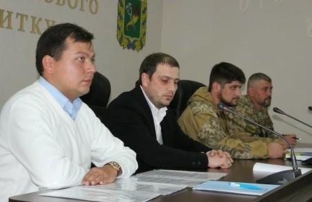 Ветерани АТО отримали документи на нові земельні ділянки/ Фоторепортаж