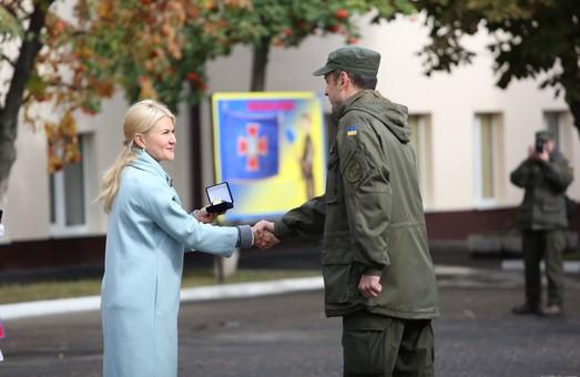 Служба в Національній гвардії України – це справа для справжніх чоловіків, - Світлична - харківським нацгвардійцям