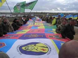 Пам'ять загиблих українських воїнів була вшанована на Алеї Слави